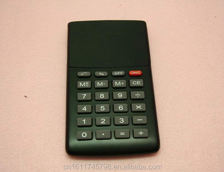 8 digit mini pocket high quality covered screen calculator for promotion gifts
