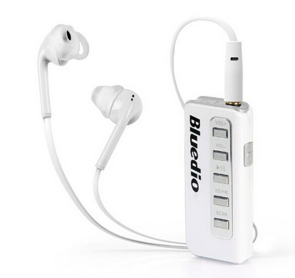 Original Bluedio i5 Bluetooth 3.0 Headphones Wireless Stereo FM Radio In-Ear Earphone Support Micro-SD Card Headset