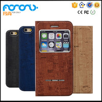 Strong protector For iphone 6 case leather,PU leather flip case cover for iphone 6