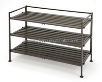 Hot sale ! Smart Home furniture for living room multifunct stainless steel shoe rack