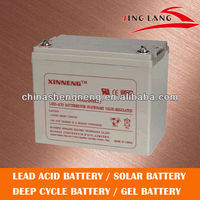 Solar Gel battery 12V70Ah / VRLA Battery / long life/deep cycle