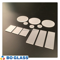 2mm borosilicate glass plate; frosted glass sheet; heat-resistance glass