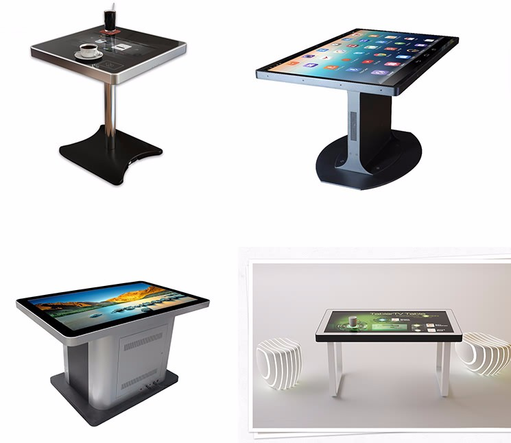 42inch Six Points Ir Touchscreen Interactive Touch Screen Coffee Table Buy Multi Touch Screen