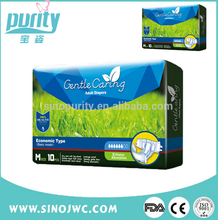 China made Soft material healthy adult diaper for old people