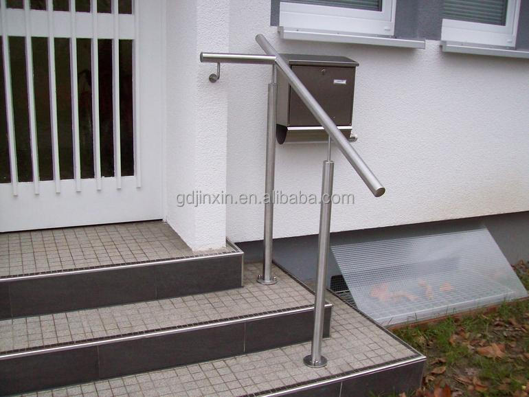 Stainless steel step handrail for front door steps buy