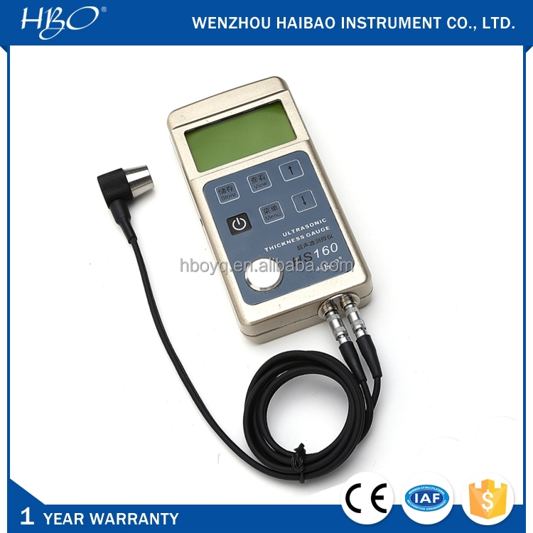 HS160 mini digital ultrasonic thickness gauge, thickness tester / meter / measuring instrument