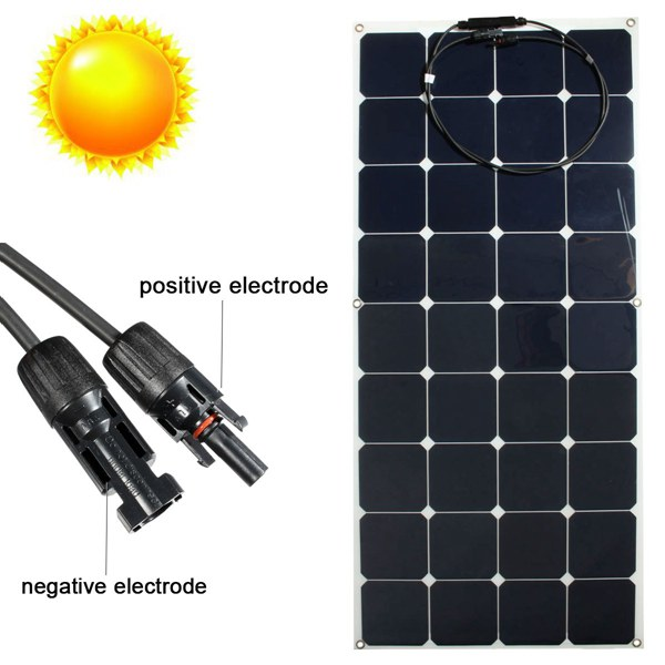 OEM for Yacht Boat RV Boat PV Module Portable Solar Panel Flexibel