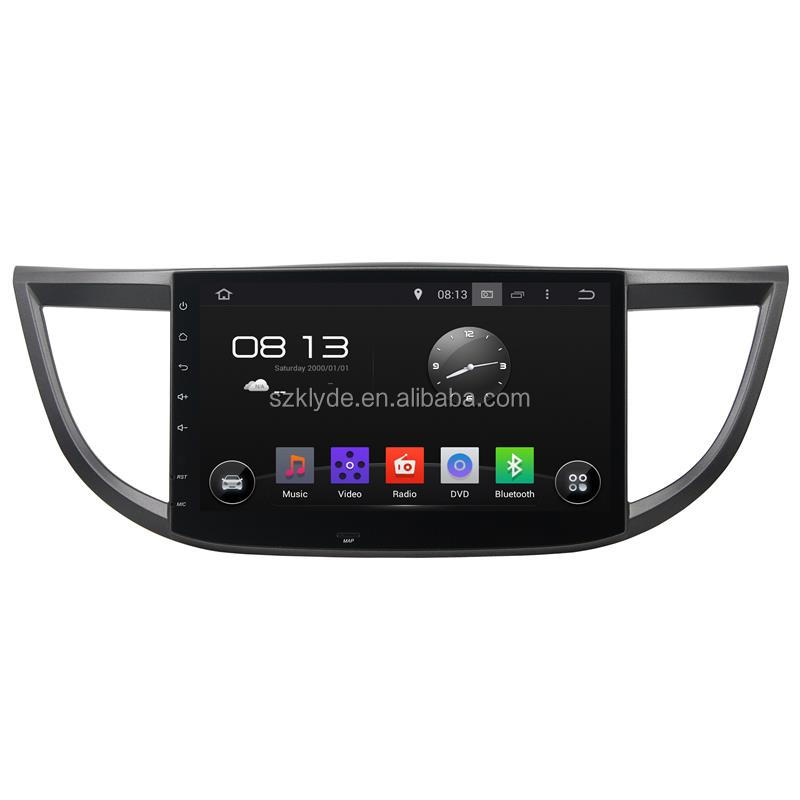 10.1 inch 4 core 1024*600 Bluetooth WIFI DAB+ 16GB android 5.1 car audio system for Honda CRV 2015