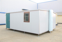 Promotion Price luxury manufacturer welded folding container houses