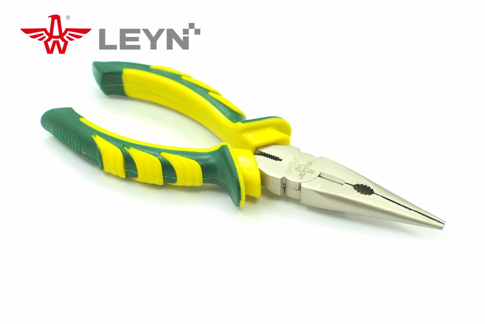 factory price steel grip drop forged hand tools long nose plier