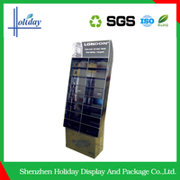 Durable Mobile Phone Cardbaoard Display Stand For Retail Promotion Private Store Supermarket