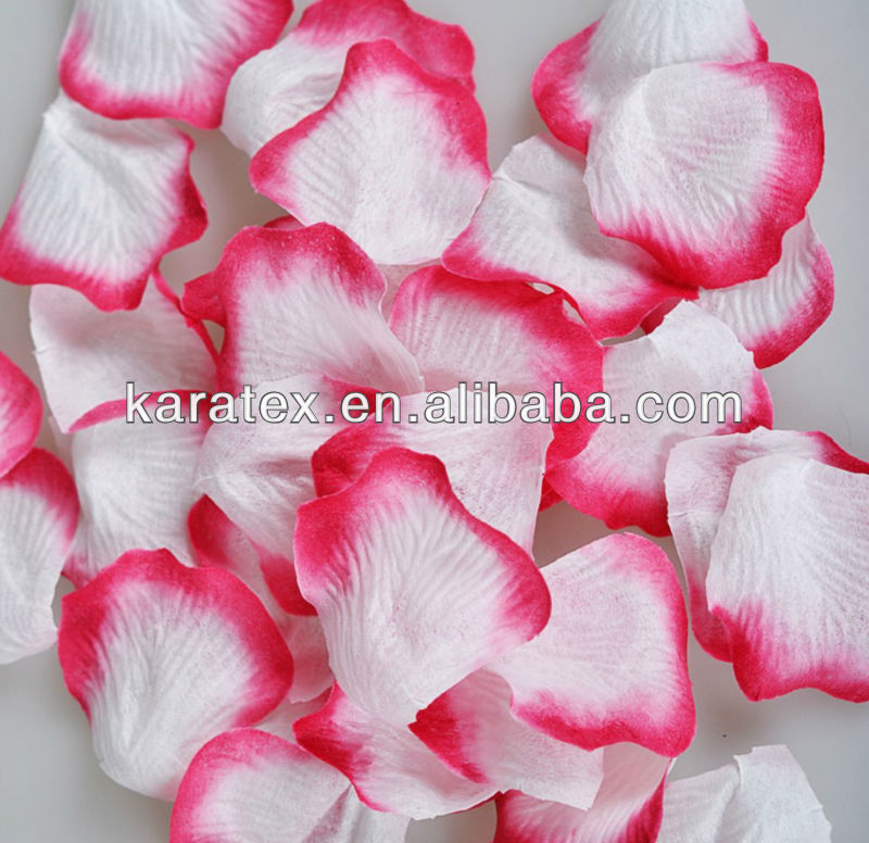 non woven rose petals for wedding decoration