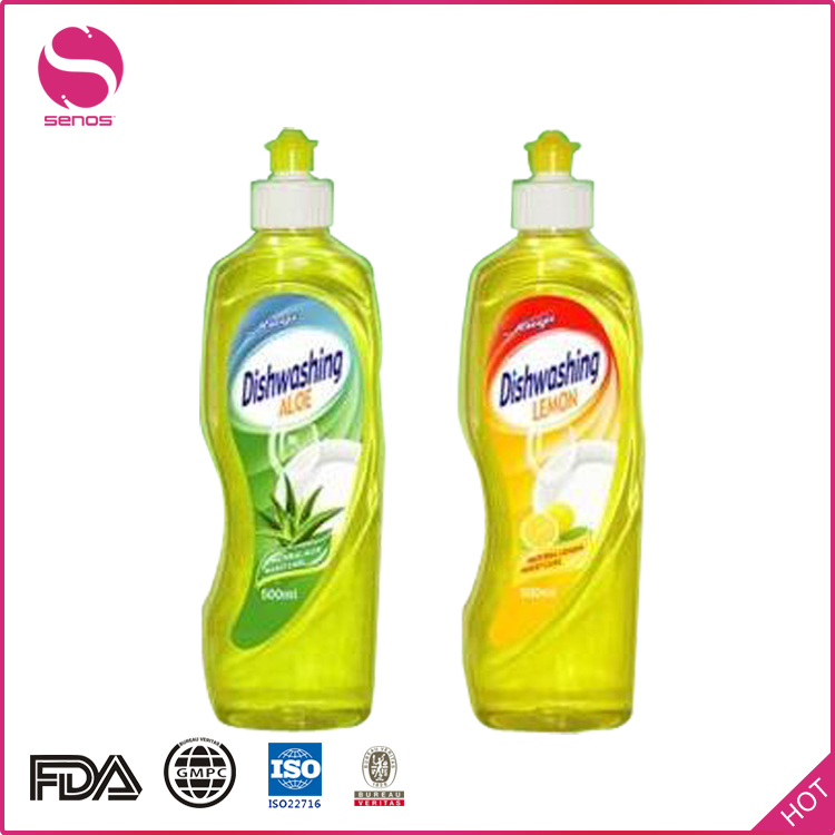 Senos Brands Customized Formula And Size Eco-Friendly Liquid 500ML Dish Washing Detergent