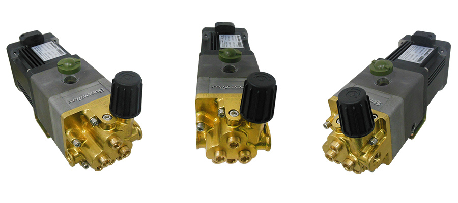 High pressure water piston pump