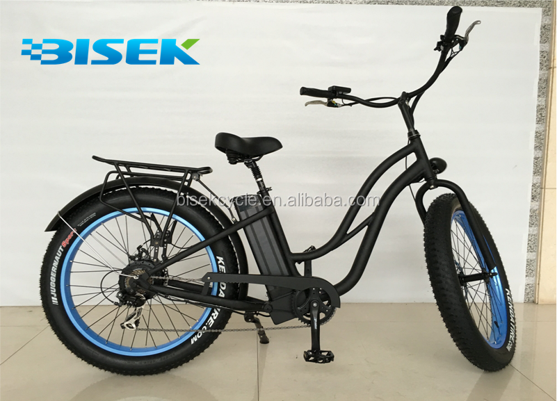 2016 new women' fat tires electric bikes with step through frame and 500W power engine