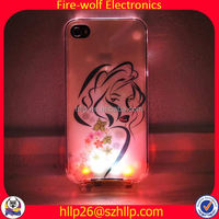 ON/OFF with battery cell phone slip case LED cell phone slip case Manufacturer