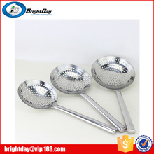 China factory stainless steel colander mini colander spoon