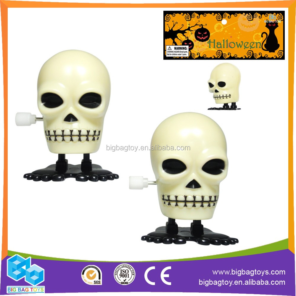 fun halloween for halloween Skull Wind up toy(1pcs) for kids