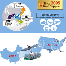 International logistics freight forwarding shipping company agent service from china to long beach usa