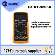 High Quality 200mv-1000v Folding Head Dt9205a Digital Multimeter Manual