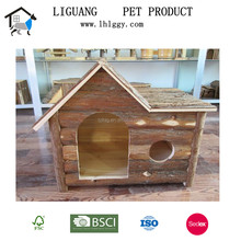 Professional manufacturer sell Solid Wood Waterproof Natural large Dog House