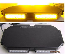 High bright generation III 1watt magnet led warning mini lightbar with black dome