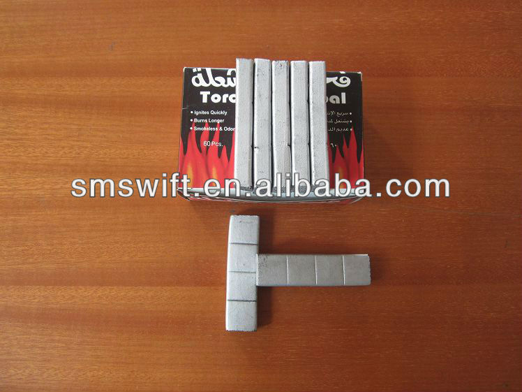 2014 New Design Silver Bamboo Charcoal for Hookah