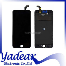 For iPhone 6 Plus lcd digitizer assembly / glass/ flex cable/ back cover spare Parts For iPhone 6 plus