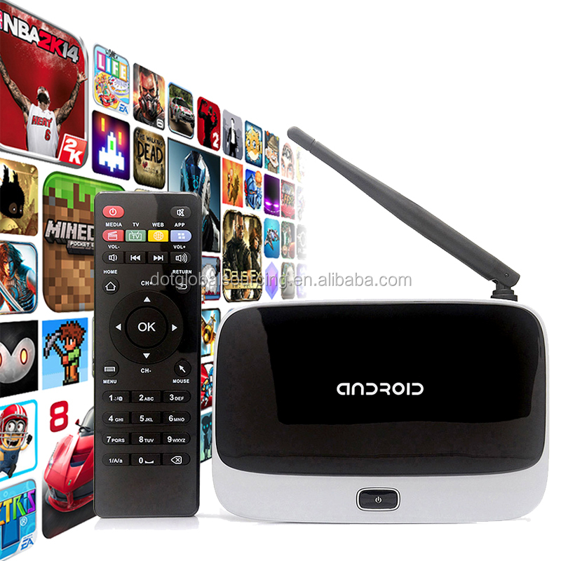 Factory Promotion Original Quality CS918 XBMC KODI Pre-Installed Smart TV Quad Core Android 1080P Media Player Mini PC