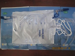 2000ml PVC Luxury Disposable Drainage Urine Dianage Bag