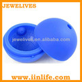 100% food grade round silicone ice ball tray