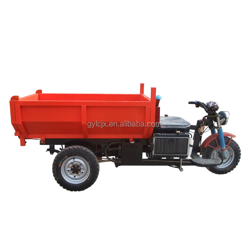 Licheng Heavy Load Dump Garbage Tricycle With Dump
