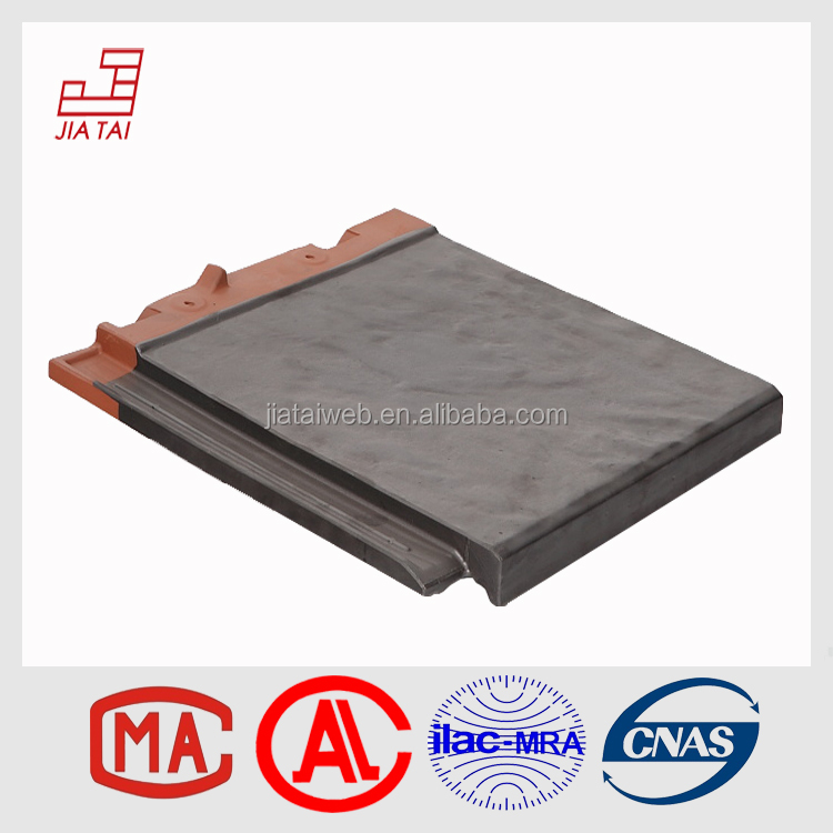 FS-850 Made in China waterproof natural roofing clay tiles