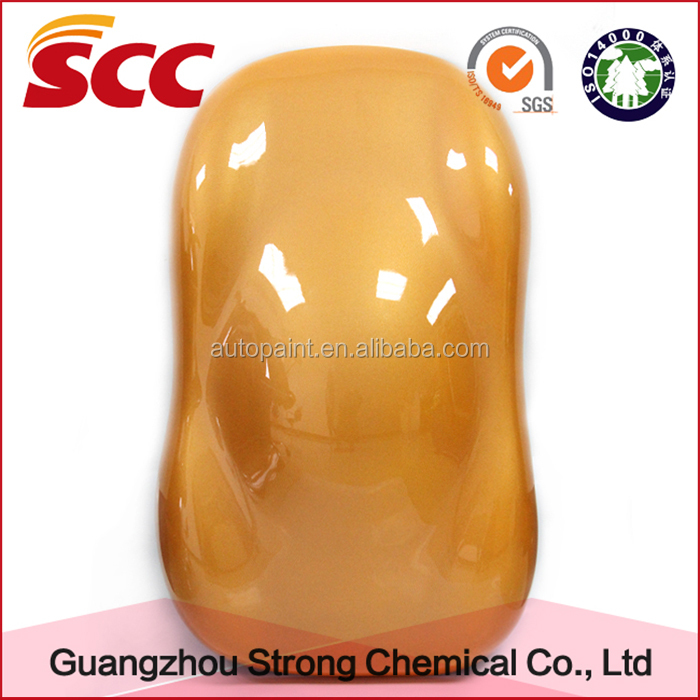 Weather resistant acrylic material solvent base car paint
