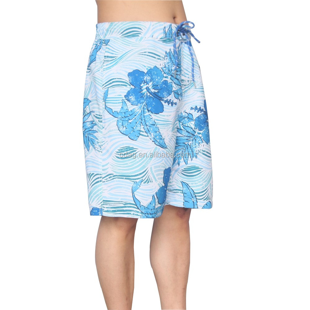 stylish quality 100% polyester swim water proof pocket shorts