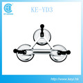 KE-YD3, High quality aluminum good force 3 plate glass suction cup