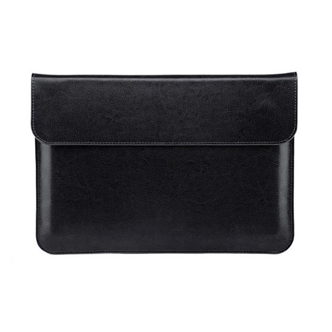 Waterproof leather top flip laptop cover for Macbook