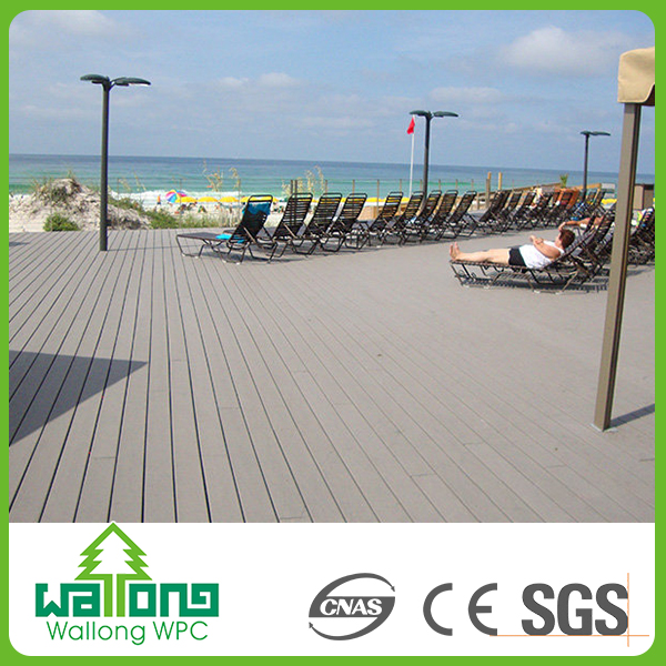 2016 new wpc composite boards timber decking floor decking hollow latest models of tiles