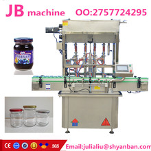 Chinese shanghai cheapest JB-J4 customized honey jam filling and capping machine