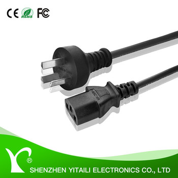 YITAILI High Quality Standard Brazil Plug Power Cable 1.5m/1.8m/3m/5m
