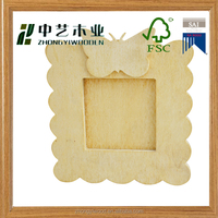 handmade home decor eco-friendly cheap small decorative wooden picture frame
