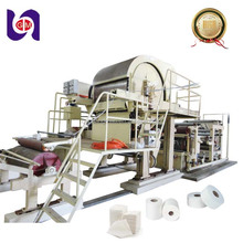 Towel Roll Manufacturing Waste Recycle Facial Sanitary Napkin Making Production Toilet Tissue Paper Machine Price