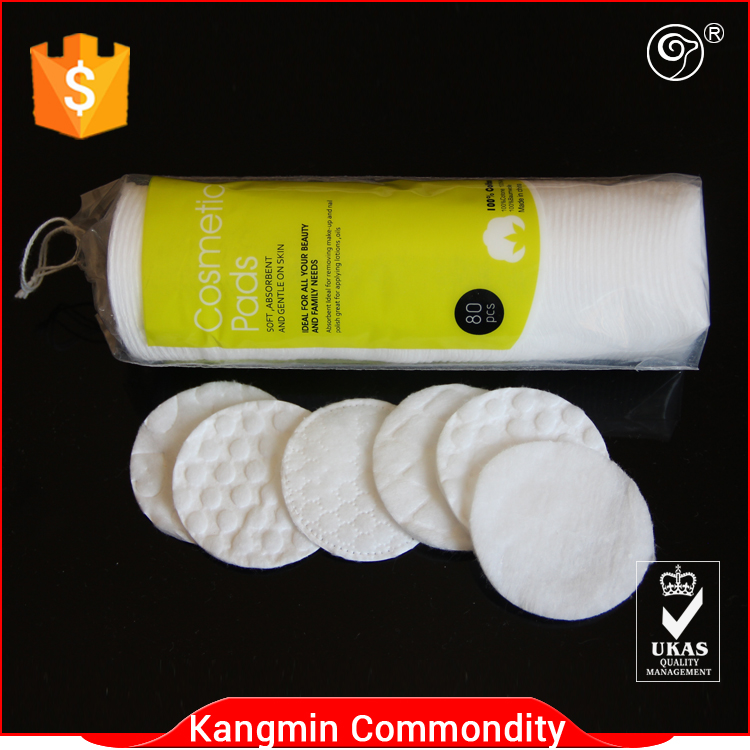 Whisper pad cosmetic cotton pads manufacturers