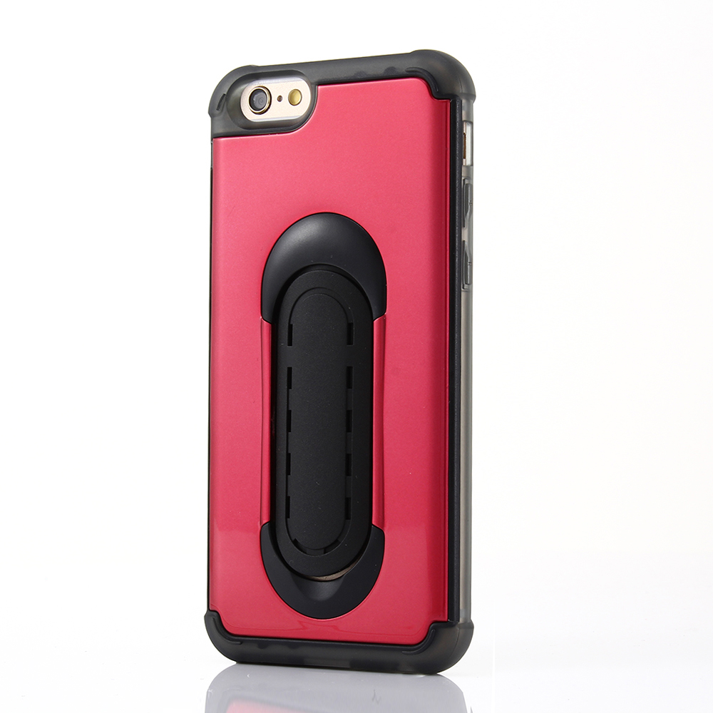 Cheap phone cover with support bracket kickstand high-grade plastic case