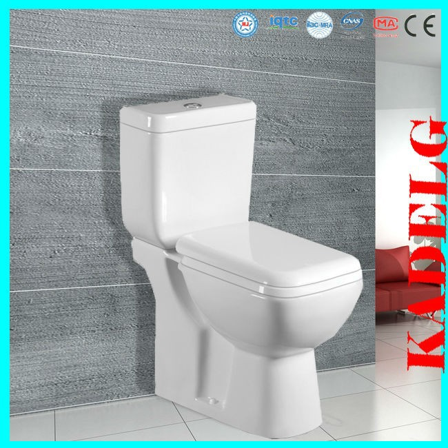 S trap two piece ceramic toilet ratings