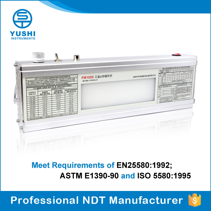 YUSHI FM1000 NDT X Ray Film Viewer NDT LED Film Viewer
