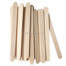 Wooden Ice Cream Craft Sticks, Custom Popsicle Sticks Paddle Pop Spoon