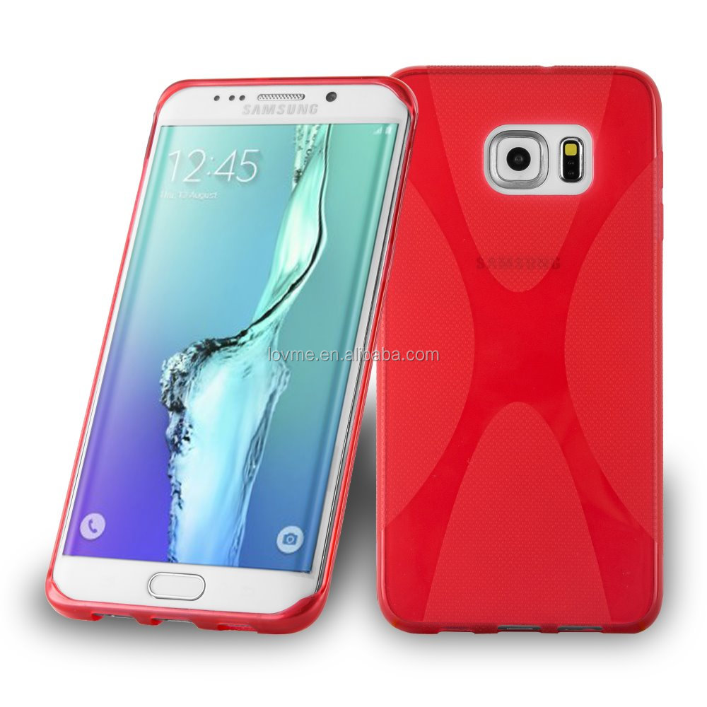 2016 Durable Soft X Line Tpu Case For Samsung galaxy S7
