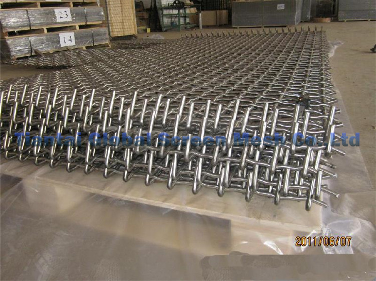 304 Stainless Steel Heavy Duty Crimped Wire Mesh