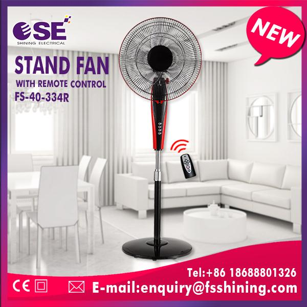 3PP blade ventilation fan 16inch industrial stand fan for warehouse line grill with rim